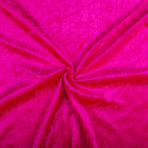 Velours De Panne – Fuchsia