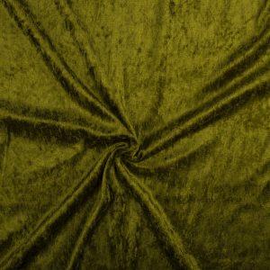 Velours De Panne – Khaki Green
