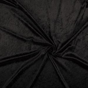Velours De Panne – Black